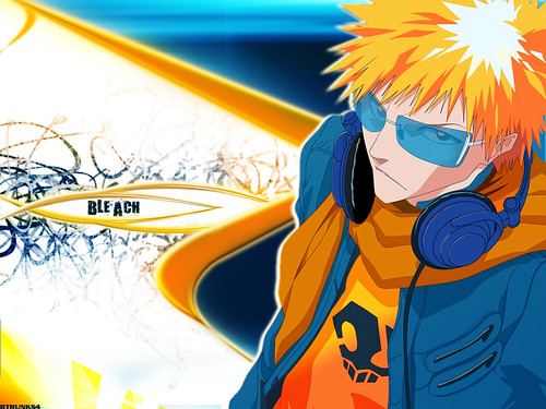 cool anime wallpapers. Ichigo Kurosagi Cool