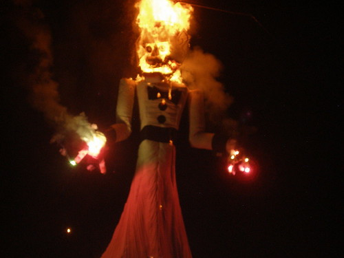 ZOZOBRA ON FIRE