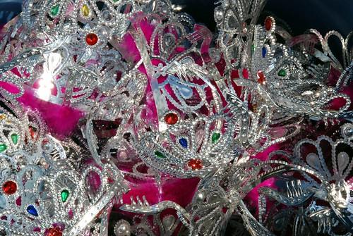 ...win a tiara...