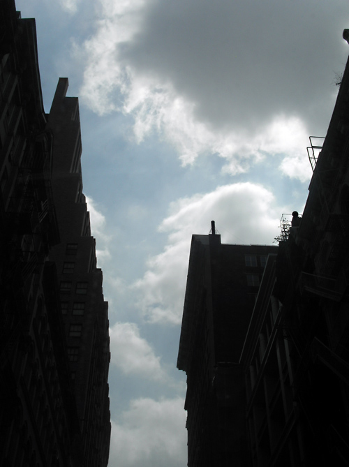 TriBeCa canyon clouds