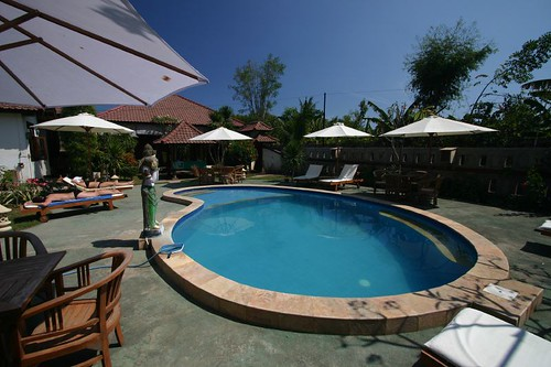 My elegant and wonderful feel-good hotel, The Rumah Saga, Gili Trawangan