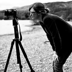 photographing  'that tree' _________Milarrochy Bay, Loch Lomond (abbozzo) Tags: uk blackandwhite landscape scotland photographer glasgow loch lochlomond thattree abbozzo abbozzoarchitects