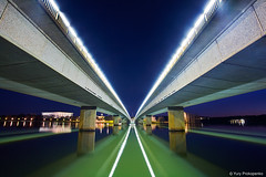 Commonwealth Avenue Bridge, Canberra, Australia (-yury-) Tags: bridge night australia canberra avenue commonwealth act