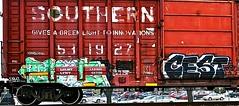 IMG_5991 (mightyquinninwky) Tags: railroad graffiti tag graf tracks railway tags tagged railcar rails boxcar graff graphiti freight trainart fr8 railart boxcarart freightart taggedboxcar paintedboxcar paintedrailcar taggedrailcar