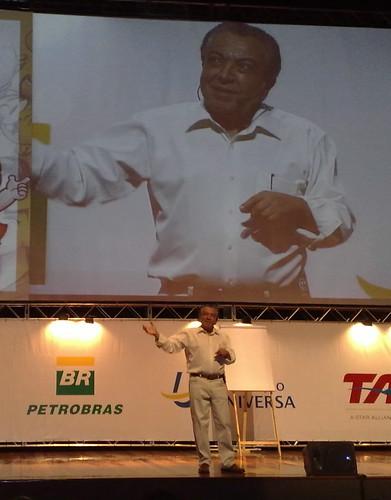 Palestra com o Mauricio de Sousa