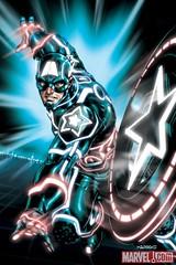 04 CAPTAIN AMERICA #612 TRON Variant, featuring Captain America