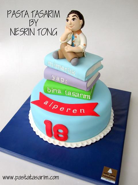 18TH BIRTHDAY CAKE - ALPEREN