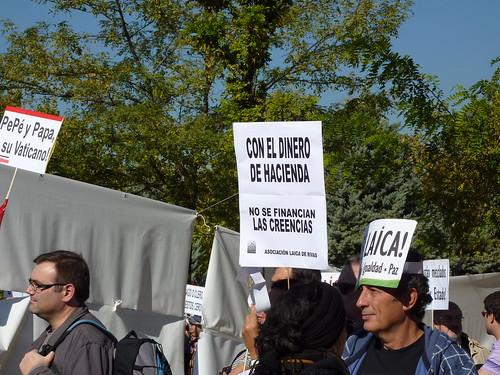 Una manifestación laica