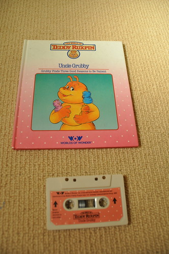 how to make a teddy ruxpin tape