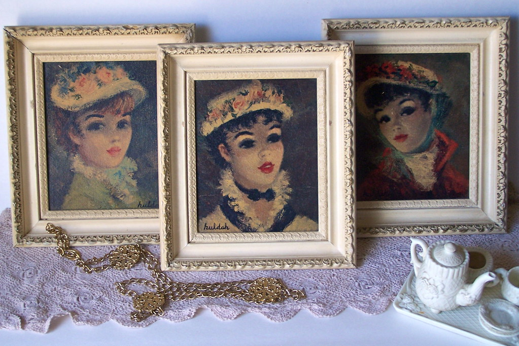 Three Shabby Chic French Girls