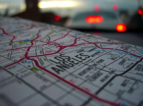 LA map