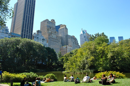 Central Park, New York City por Evelyn Proimos, en Flickr