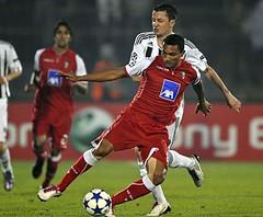 SPORTING CLUBE DE BRAGA  2010 - 2011  LIGA DOS CAMPEÕES  Partizan vs SC Braga  Fotogaleria ©mais futebol