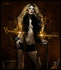 Beautiful Dangerous [ Fergie - Axel Camperano ] (Mr.JunkieXL) Tags: slash beautiful by dangerous designs axel fergie 2010 feat mrjunkiexl camperano