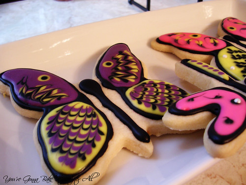 Butterfly and Dragonfly Sugar Cookies with Royal Icing DSCN6892_labeled