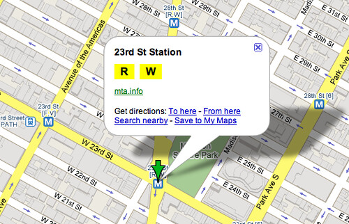 Show Mta Subway Map On Google Maps.Google Maps Now Showing More Detailed Transit Data Search Engine Land