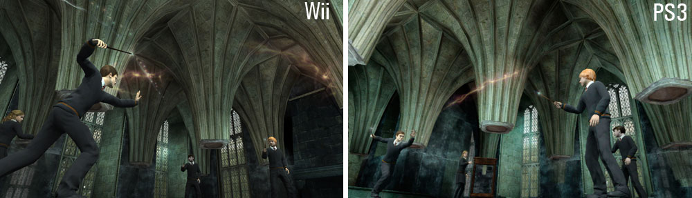 transfiguration harry potter. Harry Potter (Wii)