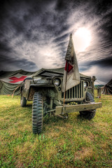 Born to help (dfworks) Tags: army jeep hdr redcross 3xp photomatix sigma1020 abigfave searchandreward flickrelite