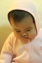 Pink Jumpsuit (cmiguel) Tags: pink portrait baby cute girl beautiful adorable cheeky manila jumpsuit fivemonths kissable bundleofjoy huggable irresistable tatianasimone