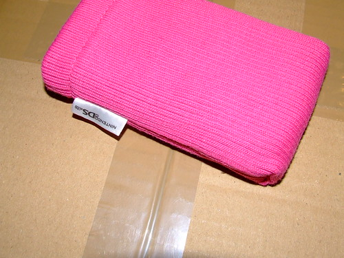 Funda rosa para mi querida Nintendo DS