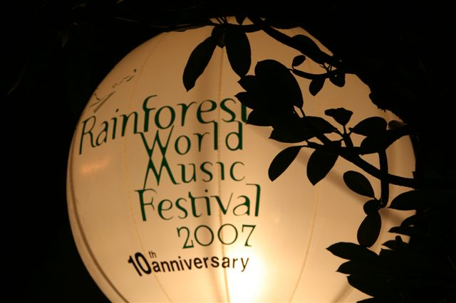 Rainforest World Music Festival 2007