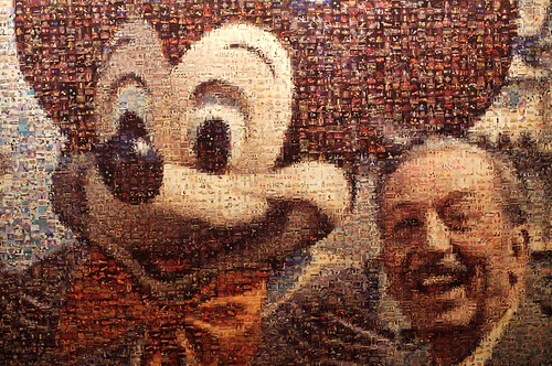 Mickey & Walt Mosaic