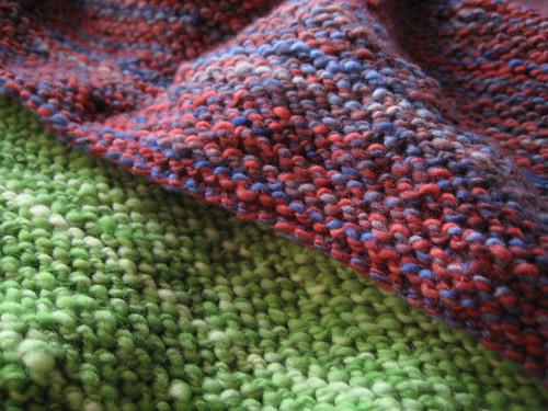 lots o' garter stitch