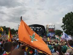 100 Jamboree UK - Ceremonia de inaguracion