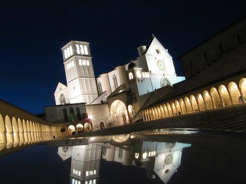 Basilica di San Francesco di notte da dany111.