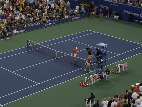Justine Henin - Henin Wins