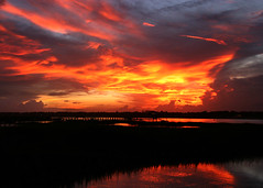 371_7196 (naturesviews) Tags: sunset sky sun clouds skies sunsets skyshow settingsun murrellsinlet wondersofnature brilliantsunset godspaintings skypaintings