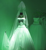 green dress green wedding dress photo