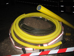 Yellow gas conduit