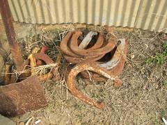 horseshoes (Mahala) Tags: rusty hidden horseshoes mahala hiddenmahala