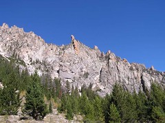 "The ""Camel"" above Alpine Lake trail"