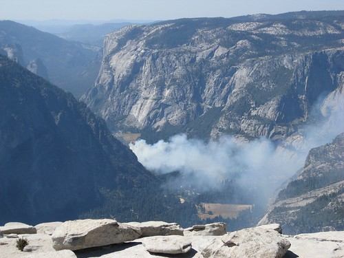 Photo: Incendio en Yosemite Village by Juanjo Bazán