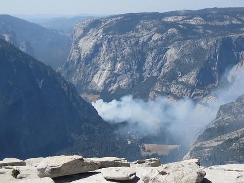 Photo: Incendio en Yosemite Village by Juanjo Bazán