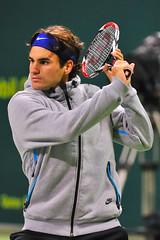 Roger Federer (Ashraf Khunduqji) Tags: sport nikon action tennis roger federer 70200mm d300 exxonmobil