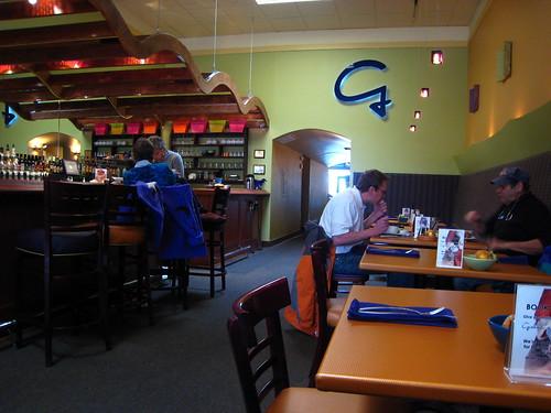Graham's Grille interior
