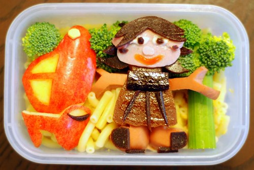 Rocket and June Bento