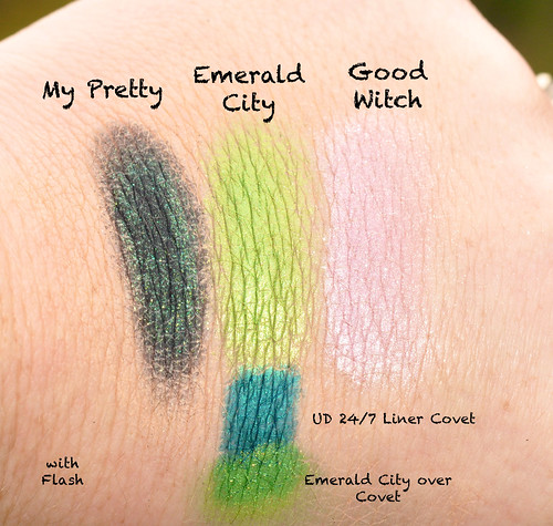 Bewitched Swatches