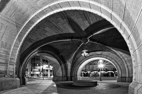 Arched in Black and White
