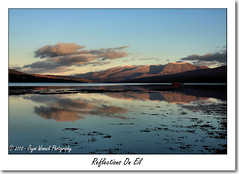 Reflections on Eil (Jaymi Womack Photography) Tags: reflection water scotland highlands eil bennevis loch nevisrange