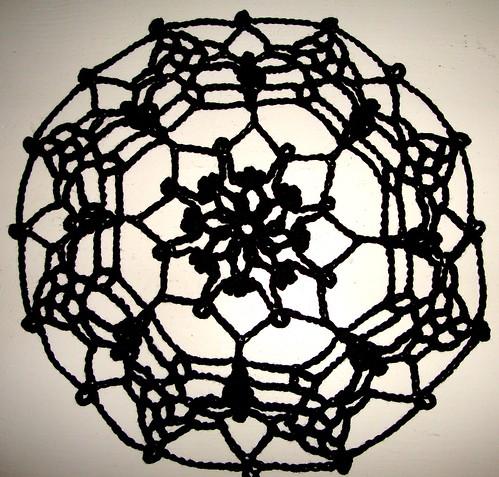Spider Web Doily 03