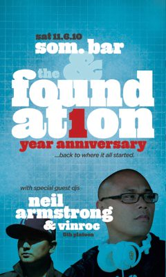 11/6 – The Foundation 1 yr Anniversary @ Som BAR SF