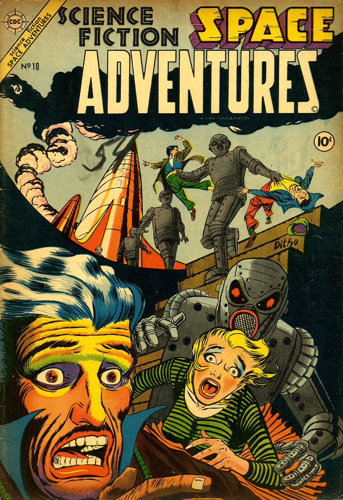 Space Adventures #10 (Charlton, 1954)