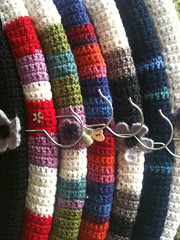 Crochet (ohlalahydi) Tags: color home wool handmade interior crochet folklore hanger