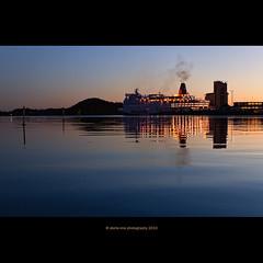 CO2 (stella-mia) Tags: light sunset reflection water oslo norway evening opera ship explore operahouse oslofjord 2470mm explored canon5dmkii annakrømcke