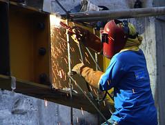iron man (jobarracuda) Tags: lumix welding worker spark constructionworker fz50 welder constructionwork panasoniclumix dmcfz50 photology jobarracuda fotocompetition|fotocompetitionbronze