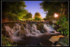 Long summer night (James_Jackson) Tags: longexposure water night waterfall lowlight firstdayofsummer